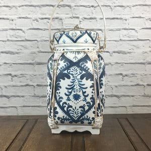 Blue and White Asian Basket 2