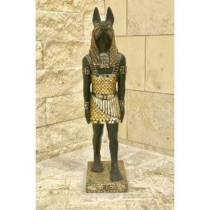 Anubis Small Guilded Statue