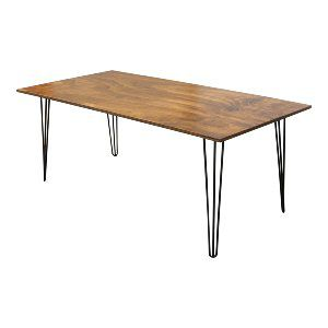 6' Hairpin Dining Table