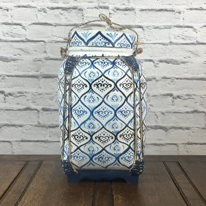 Blue and White Asian Basket 4
