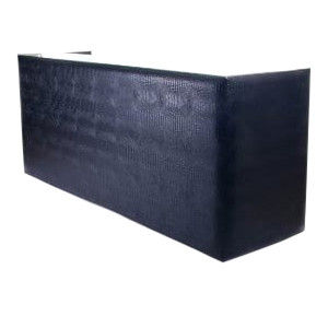 Signature Black Croc Bar 8 Foot