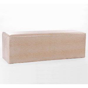 Gold + Ivory Whisper Bench
