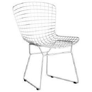 Mid-Century Wire Dining Chair