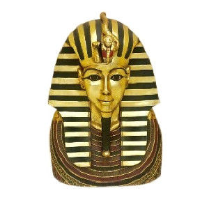 Guilded King Tut Head