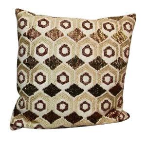 Gold Sequin Deco Pillow