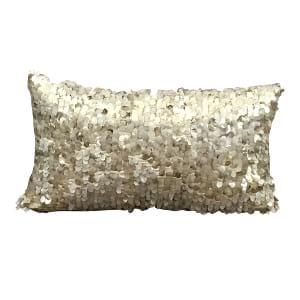 Blush Mermaid Sequin Pillow