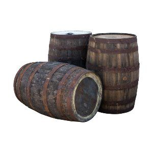 Whiskey Barrells