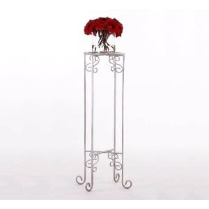 Wrought Iron Accent Fern Stand