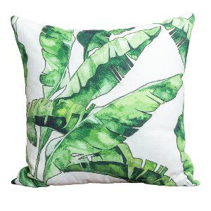 Banana Palm Accent Pillow