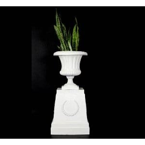 Wreath Plinth + Urn Set