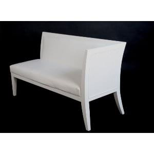 Signature White Elle Chaise