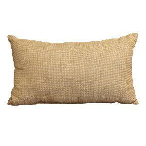 Natural+Burlap Lumbar Pillow