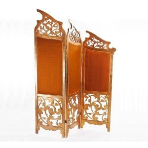 Vintage Gold Leaf Room Divider
