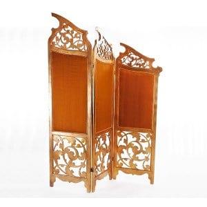 Vintage Gold Leaf Room Divider
