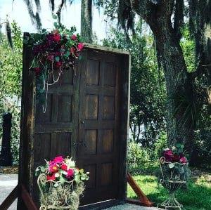 Vintage Door Arch