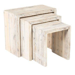 Hamptons Nesting Side Table