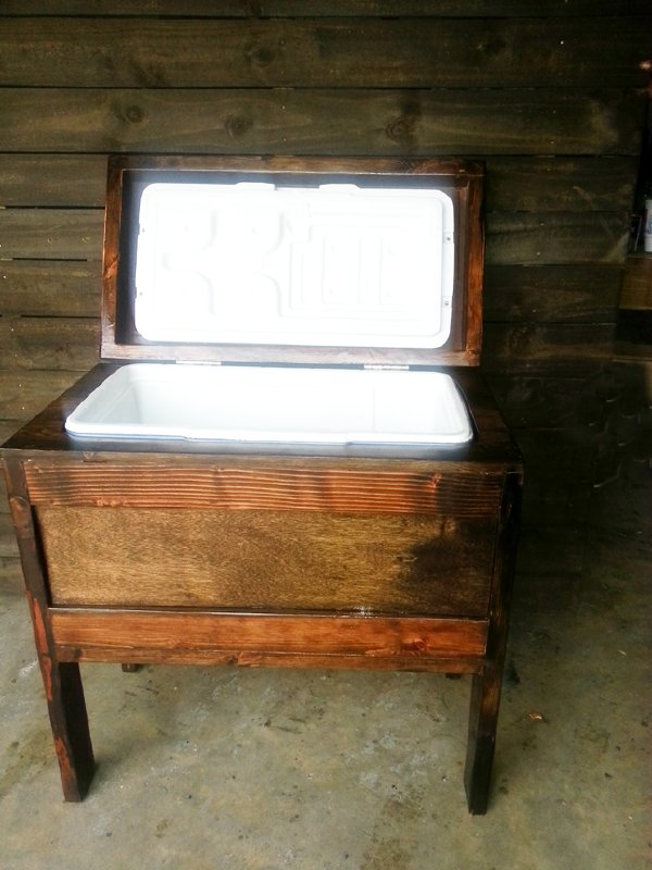 Ice Chest Table