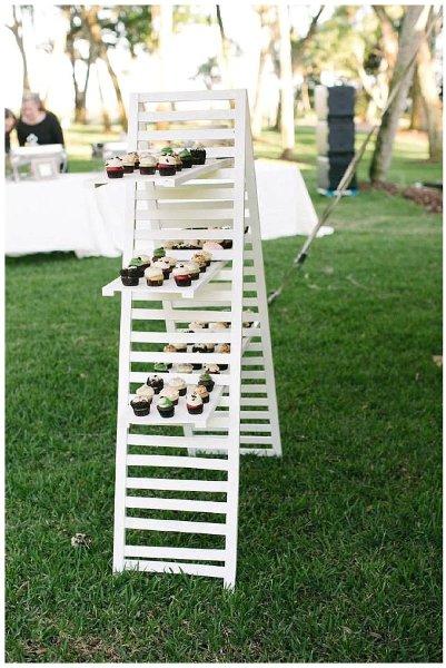 Ladder/Shutter with Shelves