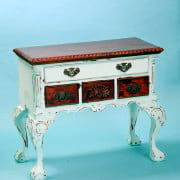 Blue Writing Desk