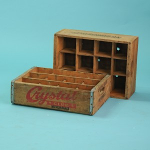Old fashioned Bev Crate