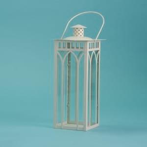 """14"""" white lantern"""