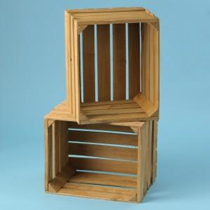 Natural Wooden Box Crates