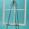 White Four Pane Window Frame