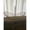 Ivory Shabby Chic Basket
