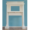White Fireplace Mantle