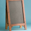 Medium Wood Frame Easel Chalkboard