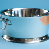 Double Walled Silver Beverage Tub