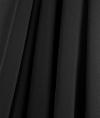 34 Ft. Black Chiffon Drapes