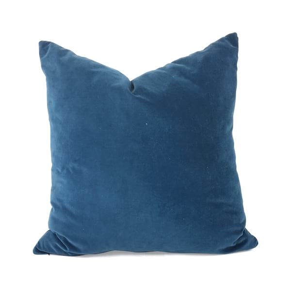 Peacock Blue Velvet