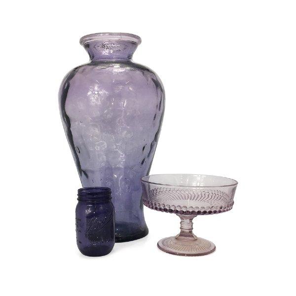 Purple Vases & Vessels