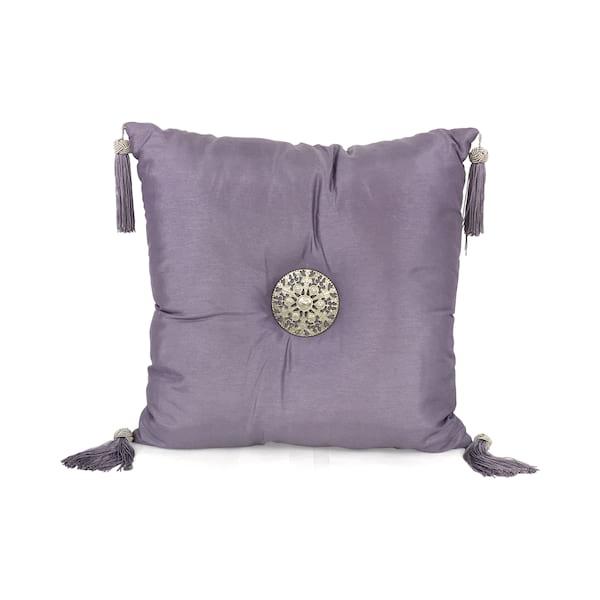 Lavender Medallion//Tassle