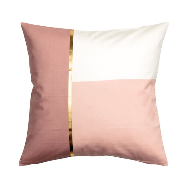 Pink Block Print