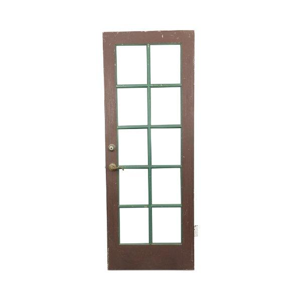 Brown//Green Door