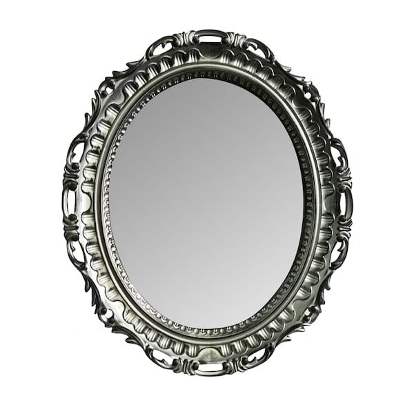 Silver Table Top Mirror