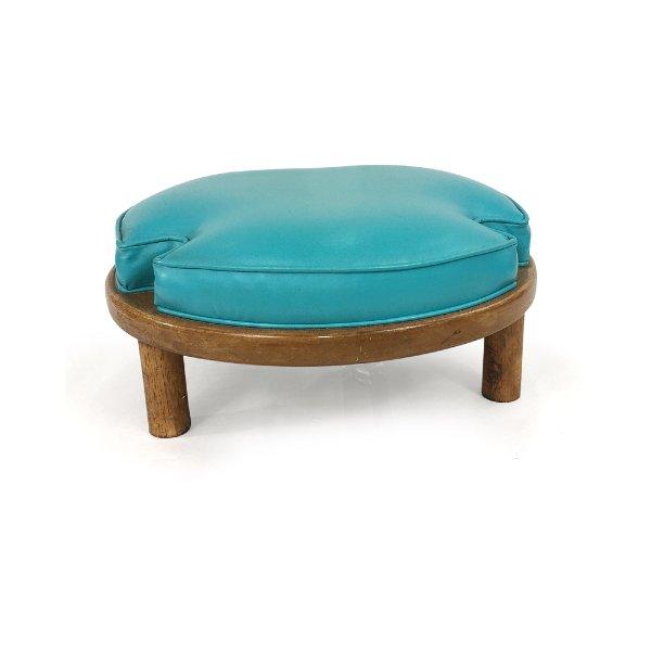 Turquoise// Floor Stool