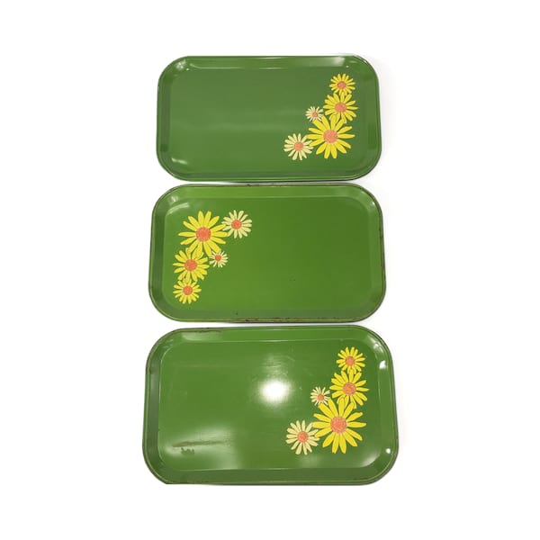 Mid Century Serving Trays