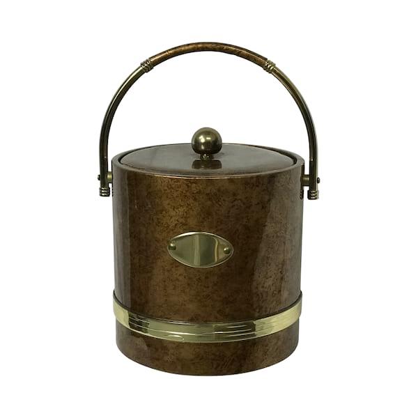 Copper Vinyl Ice Bucket
