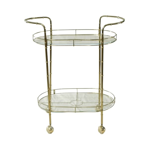 Brass Bar Cart