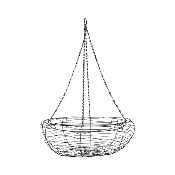 Large Hanging Wire Basket #1