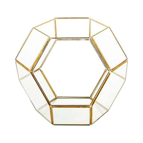 Octagon Glass Geo Box