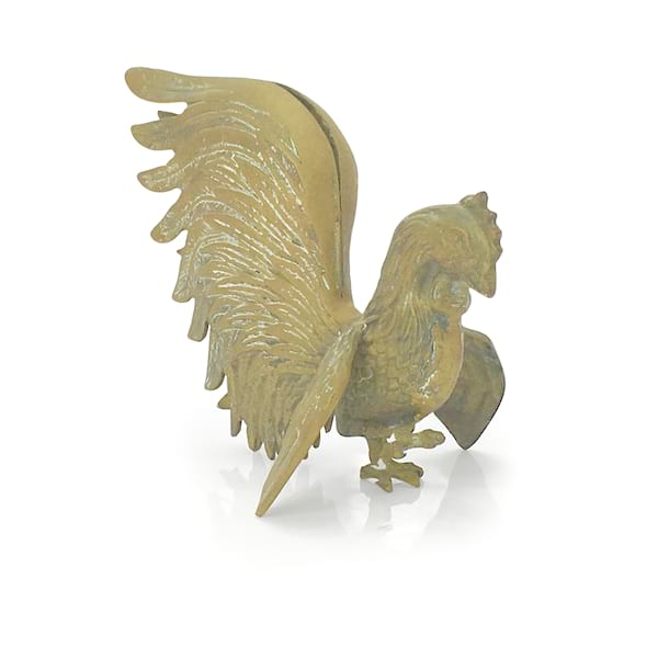 Brass Rooster