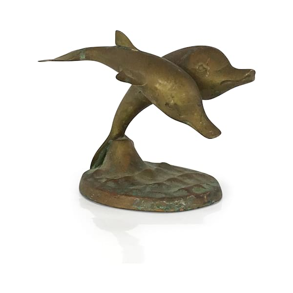 Brass Dolphins