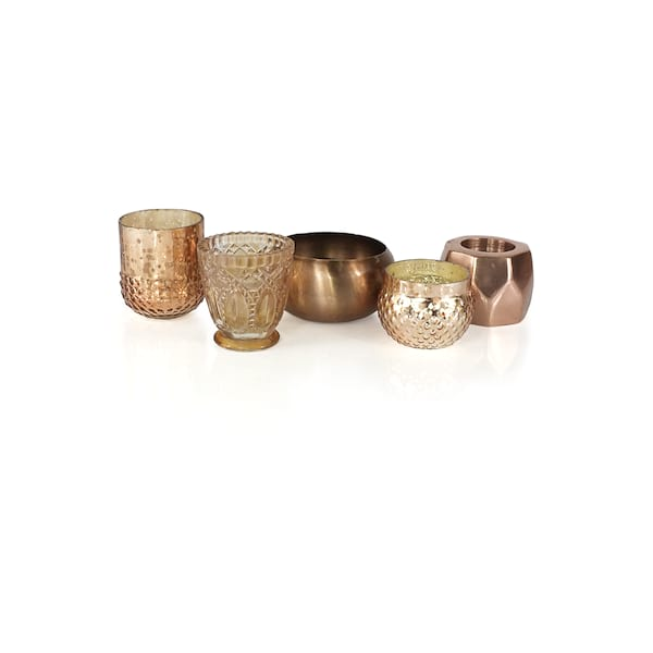 Rose Gold /Copper Votives