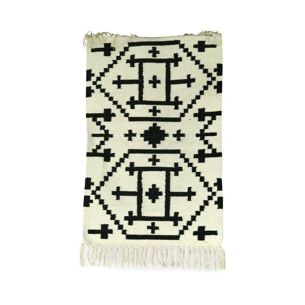 Black & White Floor Mat