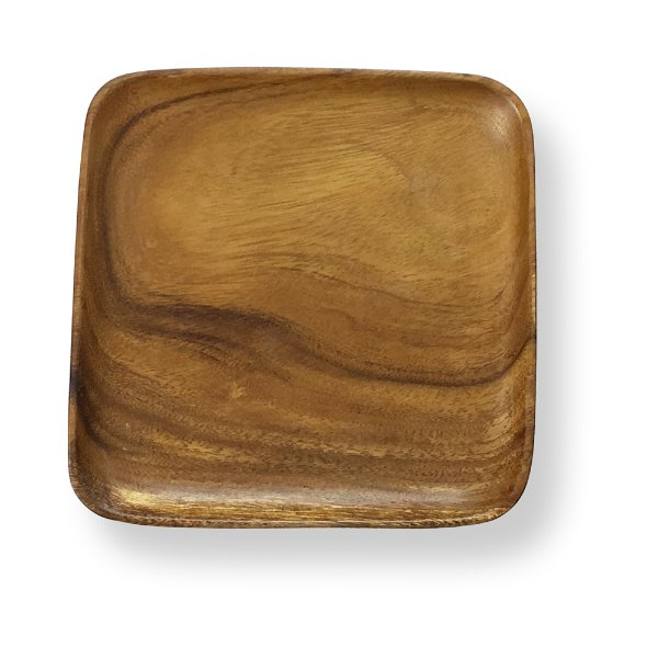 Square Acacia Wood Plates/Tray