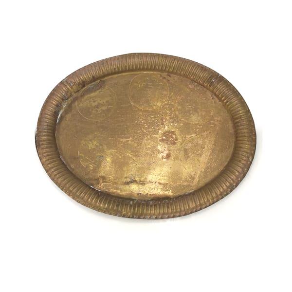 Brass Oval